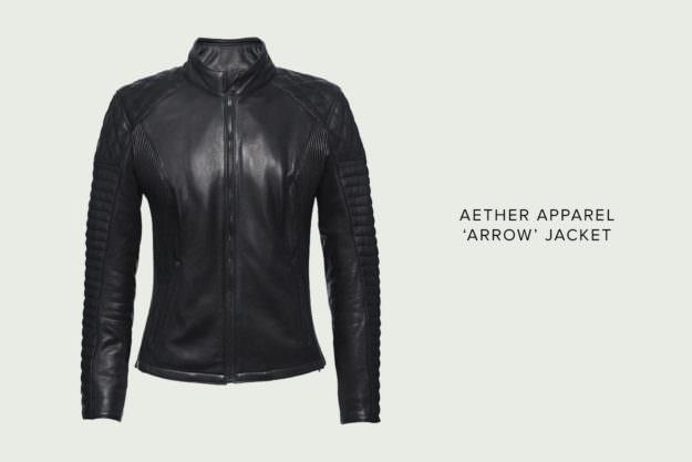 Aether Apparel Arrow women's motorcycle jacket