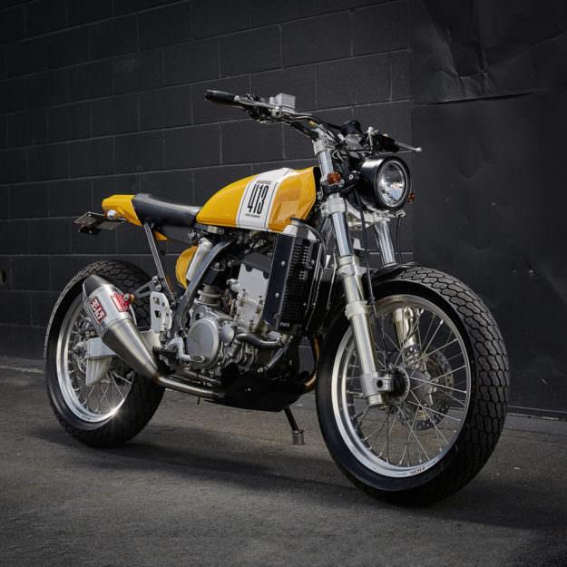 Custom Suzuki DRZ400E by Ellaspede