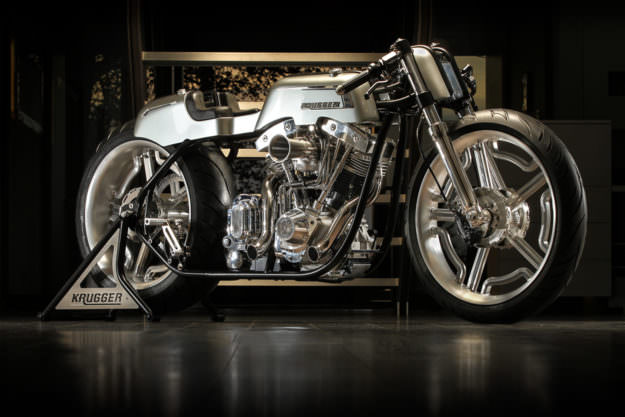 Fred Krugger's extraordinary 'Ladd'—an S&S-powered machine built for the 2016 AMD World Championship of Custom Bike Building.