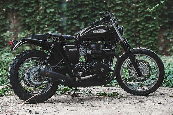 'Foxtrot' Triumph Bonneville –Anvil Motociclette