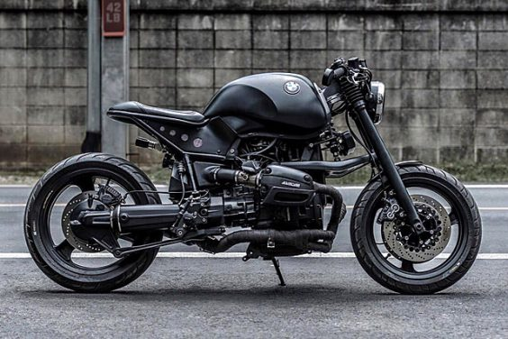 'Black Panther' BMW R1100 – K-Speed Customs