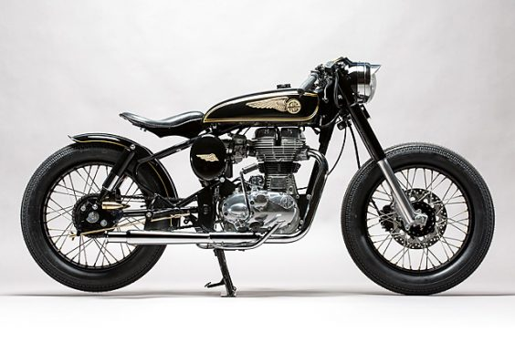 'Brass Rajah' Royal Enfield 350 – Mid Life Cycles