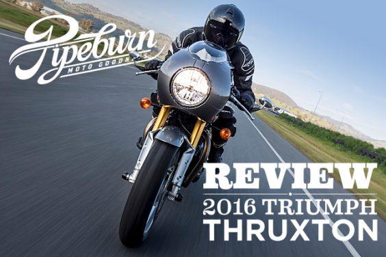 Review: 2016 Triumph Thruxton