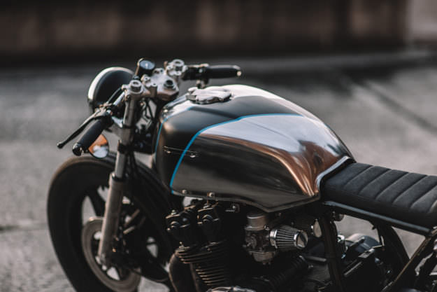 Digging this new CB750 cafe racer build from Hookie Co. of Germany.