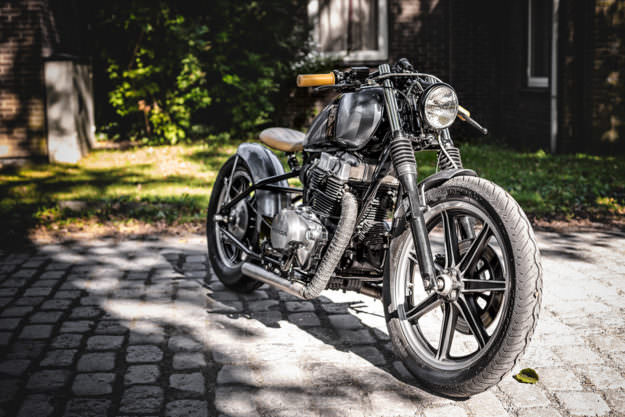 Honda CMX450 bobber by the Wrench Kings.