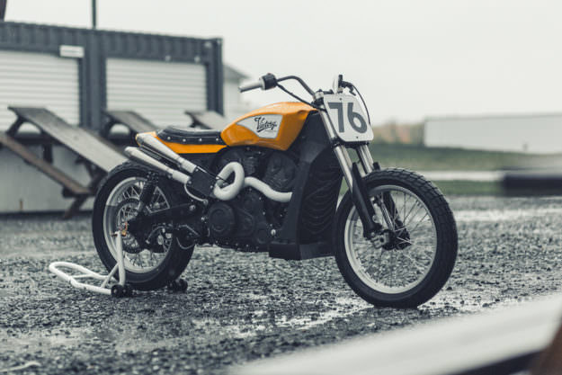 Yes, you can turn the Victory Octane into a flat tracker