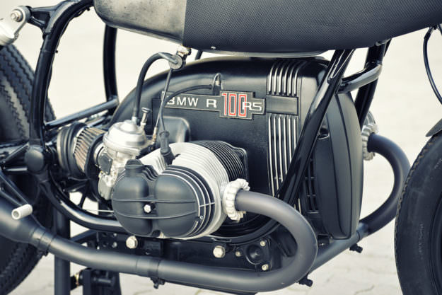 Werk Of Art: A hot-rodded BMW R80 cafe racer by Walzwerk Racing